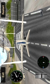 飞行模拟:3D客机截图