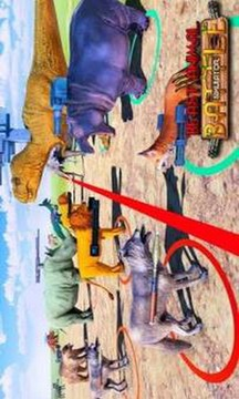 Beast Animal Kingdom Battle Simulator: Epic Battle截图