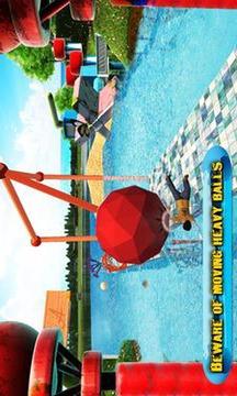 水 公园 游戏: 特技 人 跑截图