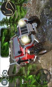 4x4 Suv Offroad extreme Jeep Game截图