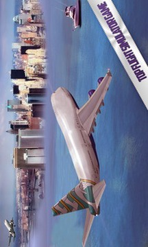 城市飞机飞行模拟器截图
