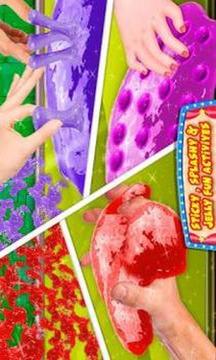 Fluffy Squishy Slime Maker! Press Poke & Stretch截图