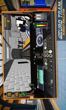 欧元电车地铁模拟器截图