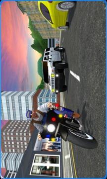 交警追车公路强盗骑士截图