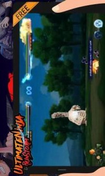 Ultimate Ninja Run Storm截图
