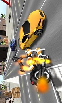 摩托3D战斗机截图