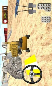 Sand Excavator Tractor Sim 3D截图