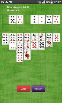空当接龙纸牌游戏截图