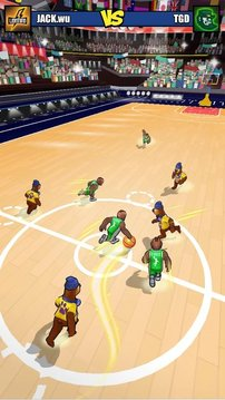 撞击篮球截图