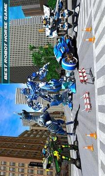 警察机器人马游戏截图