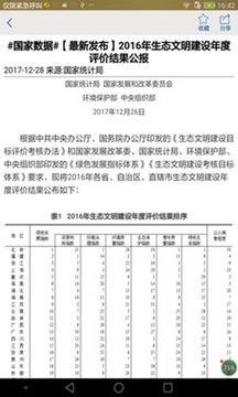 贵州统计发布截图