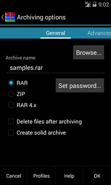 RAR for Android截图