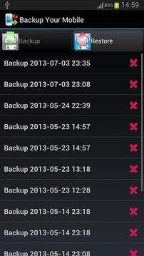 Backup Your Mobile - 手机备份截图