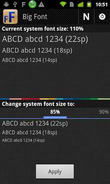 改变系统字体大小截图