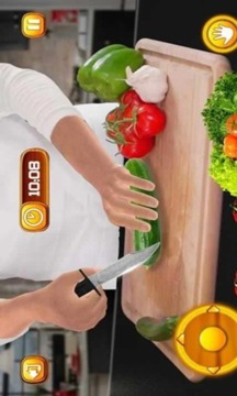 虚拟厨师烹饪游戏3D:超级厨师厨房截图