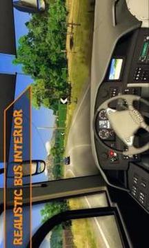 Airport Bus Simulator Heavy Driving City 3D Game截图