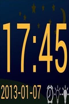 数字时钟截图