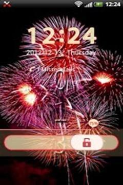新年锁屏截图