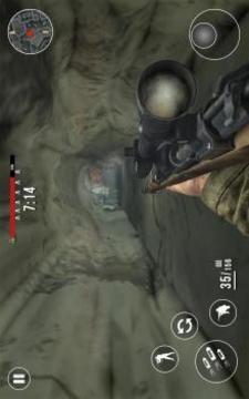 Call of Warfare FPS Modern World War WW2 Duty截图