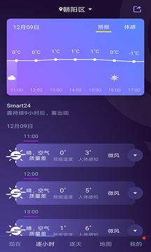 中国天气截图