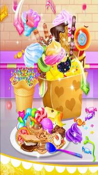夏日甜品食品截图