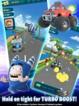 Oddbods Turbo Run截图