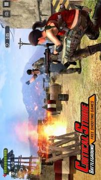 Battleground Fire   Shooting Games 2019截图