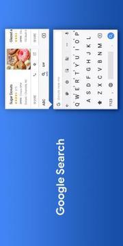 Google 键盘截图