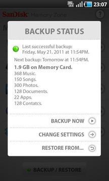 存储卡管理器 SanDisk Memory Zone截图