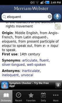 韦氏词典 Merriam-Webster Dictionary截图
