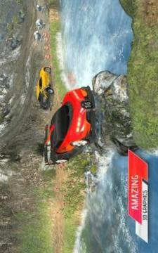 越野汽车驾驶模拟器3D:爬坡赛车截图