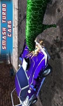 飞行机器人山羊 - 超级英雄激光眼3D攻击截图