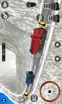 Heavy Truck Simulator : Hill Climb Driving 3D截图
