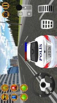 Türk Polis Oyunu Simülatörü 3D截图