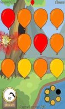 射擊氣球游戲截圖