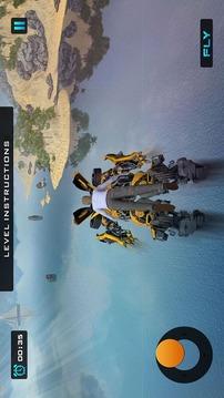 超级机器人队飞行英雄截图