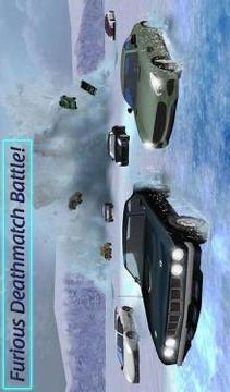 愤怒的死亡车雪车:装甲车战截图