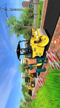 Road Construction Sim Operating Heavy Machinery截图