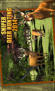 狙击手猎鹿  Sniper Deer Hunting 2014截图