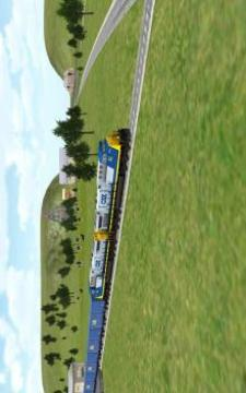 3D模拟火车截图