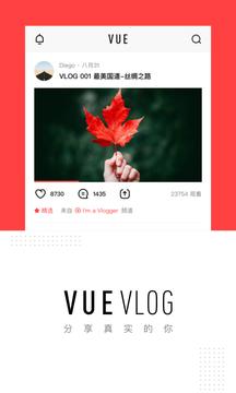 VUE Vlog截图
