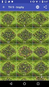 Maps of Coc TH9截图
