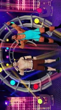 Tag team wrestling 2019: Cage death fighting Stars截图