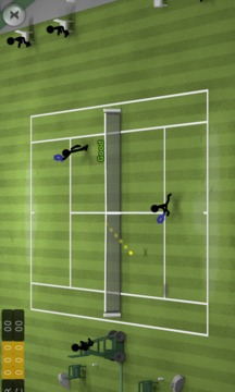 火柴人网球截图