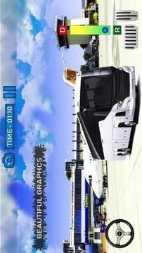 Bus Simulator Game 2019:Airport City Driving 3D截图