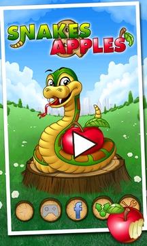 小蛇吃苹果截图