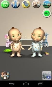 会说话的双胞胎 Talking Baby Twins截图