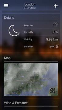 雅虎天气 Yahoo Weather截图