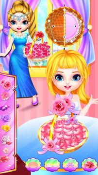 婚礼花女孩芭比装扮化妆截图