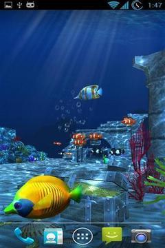 海洋3D动态壁纸截图